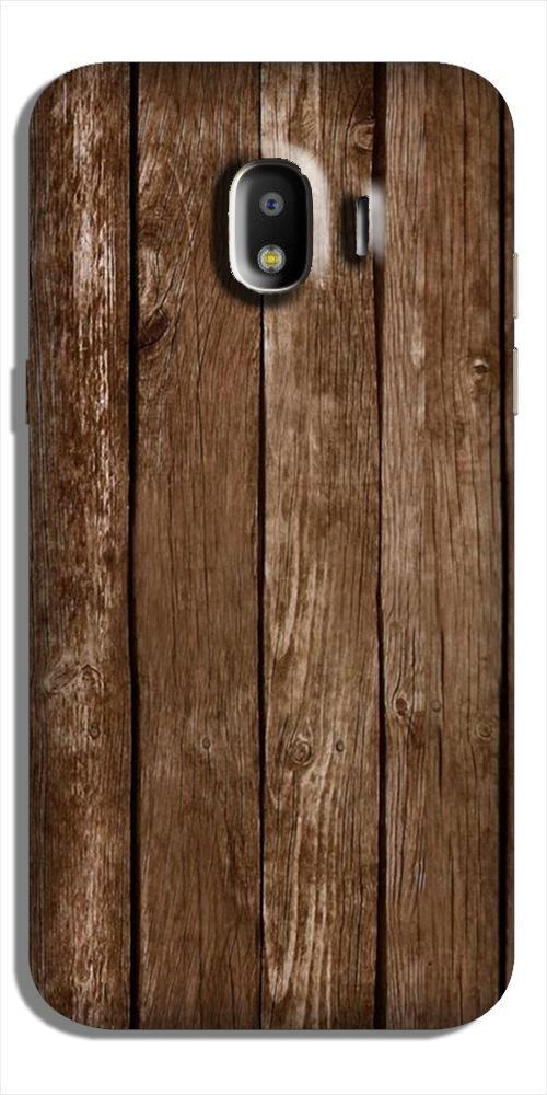 Wooden Look Case for Galaxy J2 (2018)  (Design - 112)