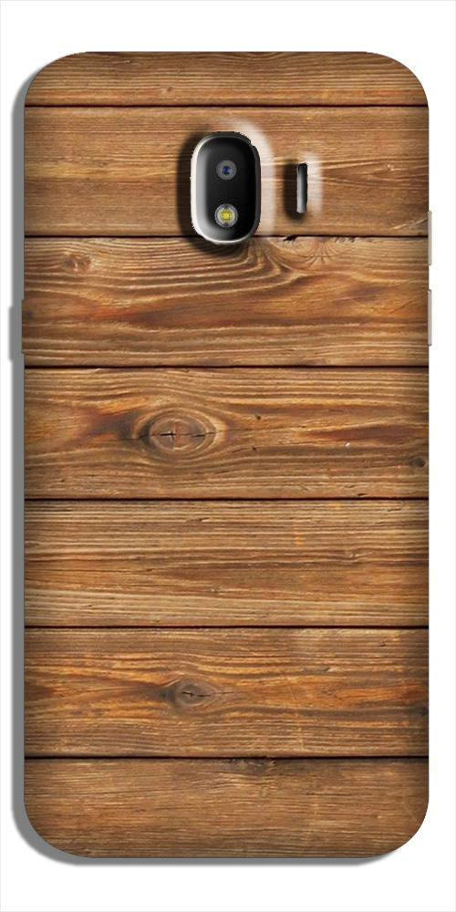 Wooden Look Case for Galaxy J2 (2018)  (Design - 113)