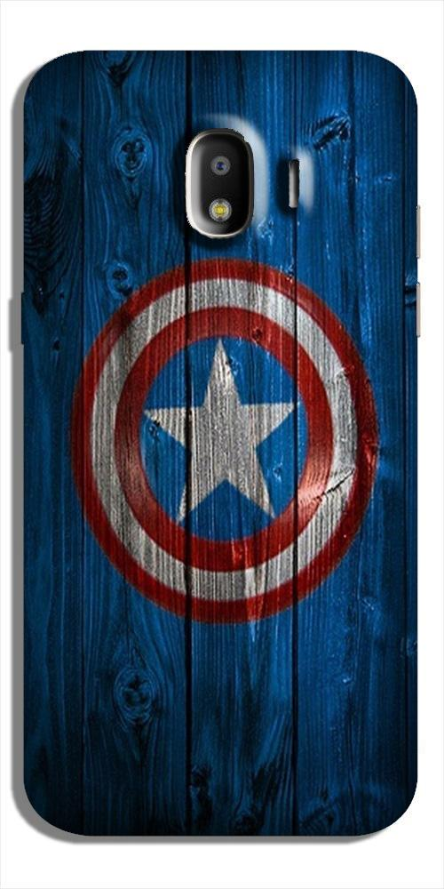 Captain America Superhero Case for Galaxy J4  (Design - 118)