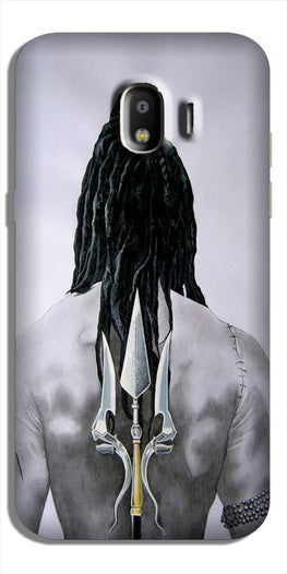 Lord Shiva Case for Galaxy J4  (Design - 135)