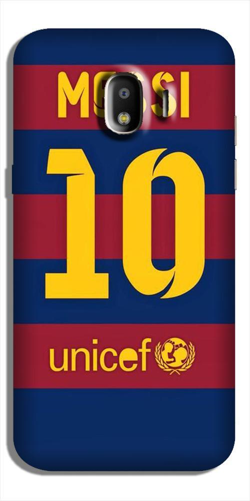 Messi Case for Galaxy J2 (2018)  (Design - 172)