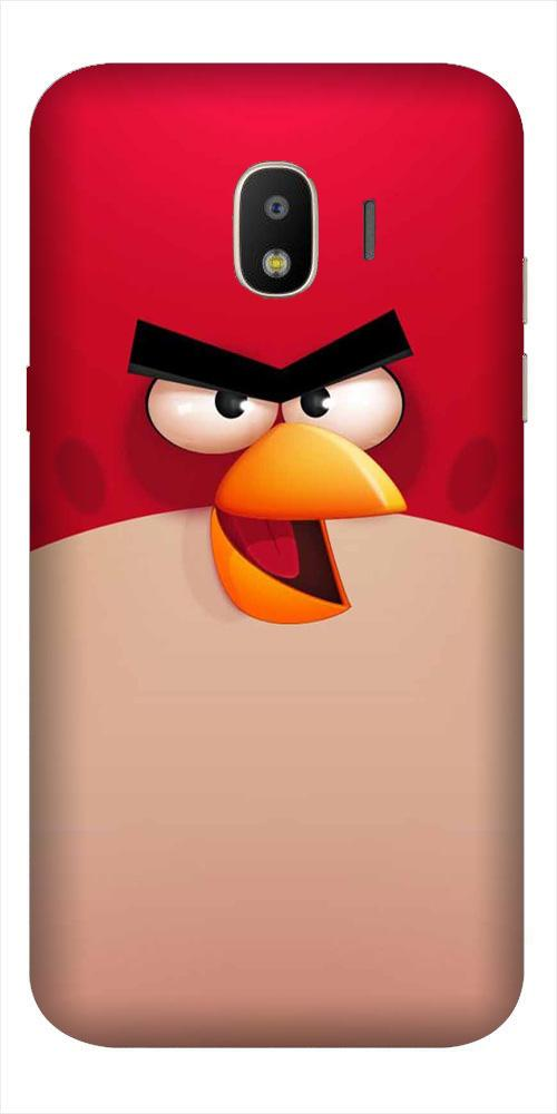 Angry Bird Red Mobile Back Case for Galaxy J2 2018   (Design - 325)