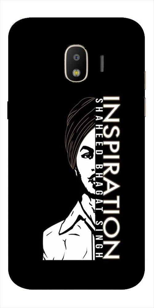 Bhagat Singh Mobile Back Case for Galaxy J2 2018   (Design - 329)