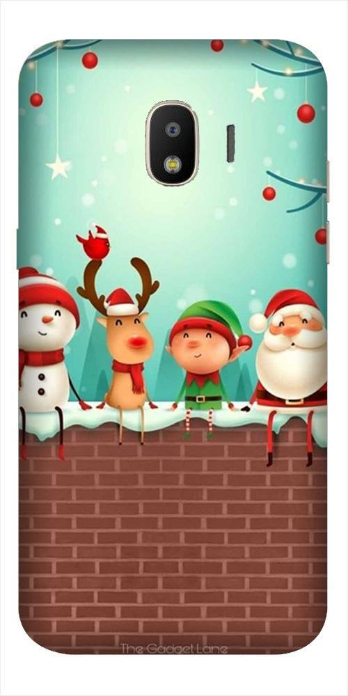Santa Claus Mobile Back Case for Galaxy J2 2018   (Design - 334)
