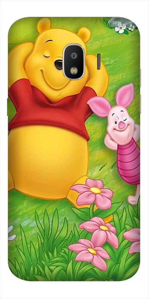 Winnie The Pooh Mobile Back Case for Galaxy J2 2018   (Design - 348)