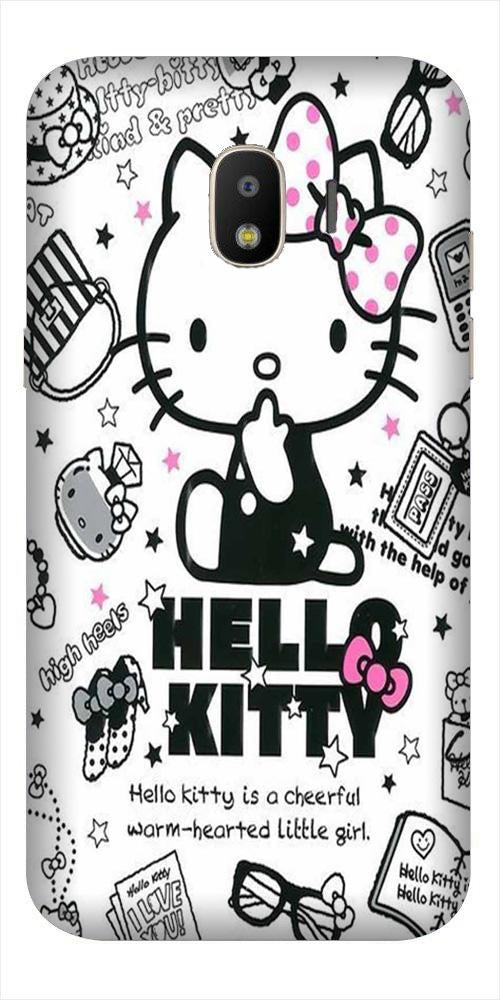 Hello Kitty Mobile Back Case for Galaxy J2 2018   (Design - 361)