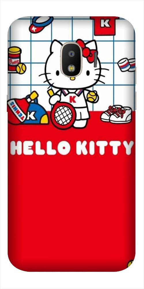 Hello Kitty Mobile Back Case for Galaxy J2 2018   (Design - 363)