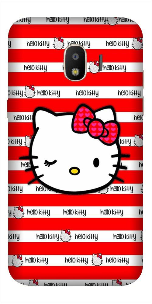 Hello Kitty Mobile Back Case for Galaxy J2 2018   (Design - 364)