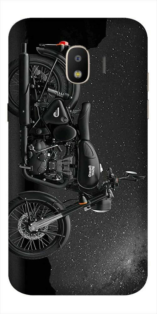 Royal Enfield Mobile Back Case for Galaxy J2 2018   (Design - 381)