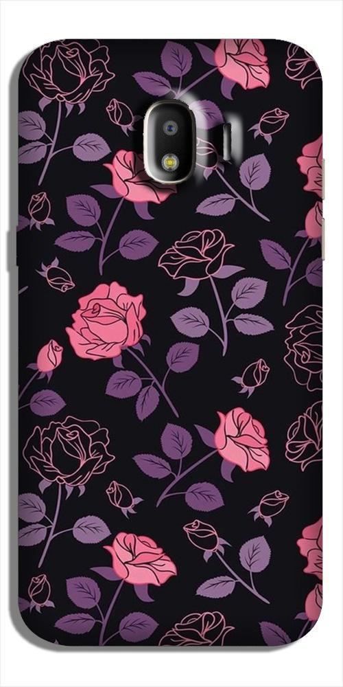 Rose Pattern Case for Galaxy J4