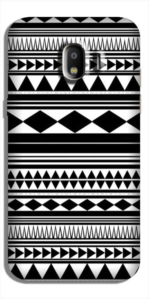Black white Pattern Case for Galaxy J4