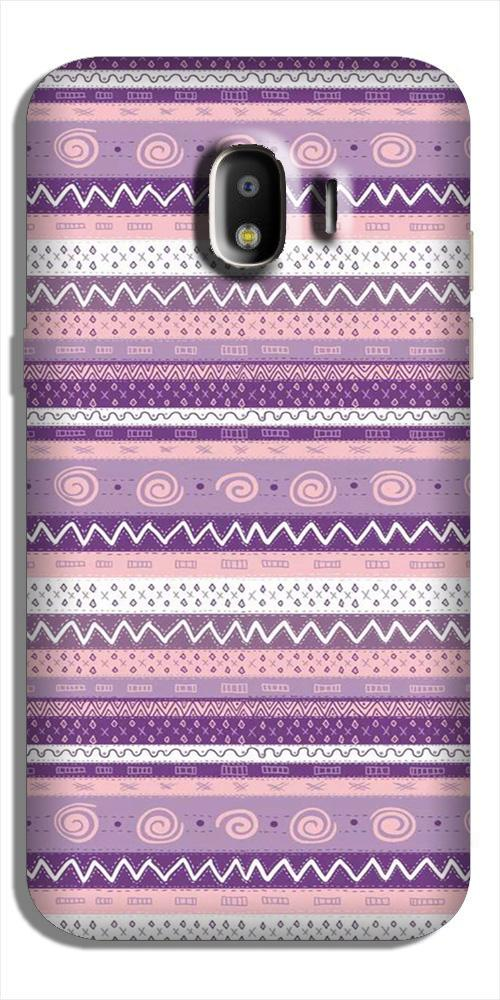 Zigzag line pattern3 Case for Galaxy J2 Core