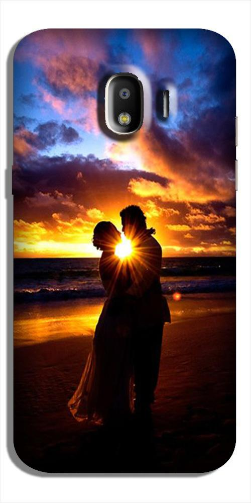 Couple Sea shore Case for Galaxy J2 Core