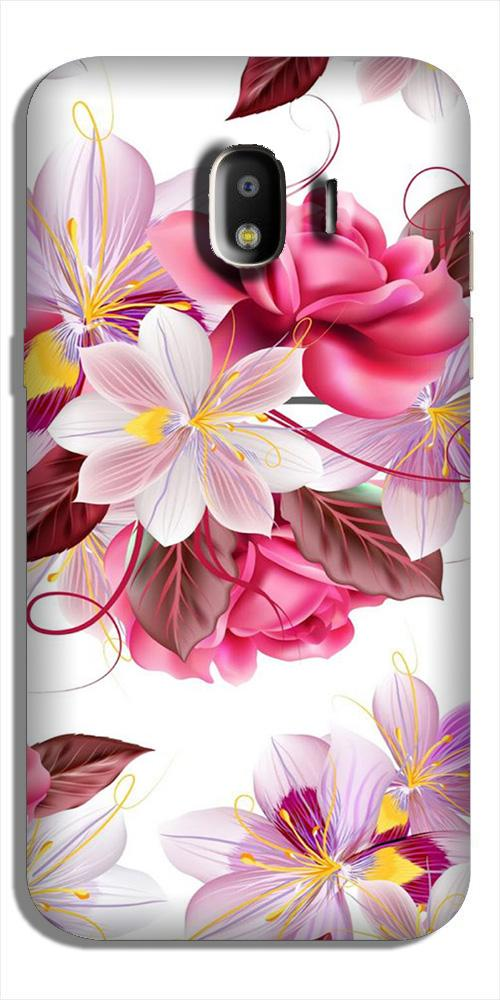 Beautiful flowers Case for Galaxy J4