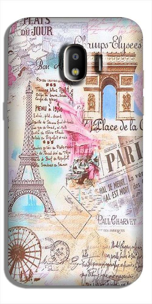 Paris Eiftel Tower Case for Galaxy J4