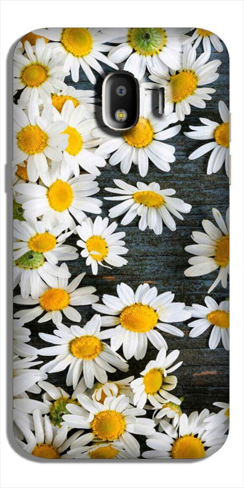 White flowers2 Case for Galaxy J4