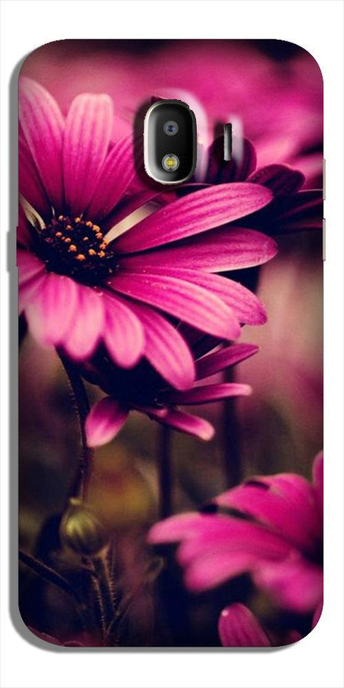 Purple Daisy Case for Galaxy J2 Core