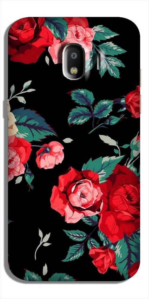 Red Rose2 Case for Galaxy J4