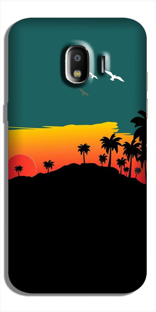 Sky Trees Case for Galaxy J2 (2018) (Design - 191)