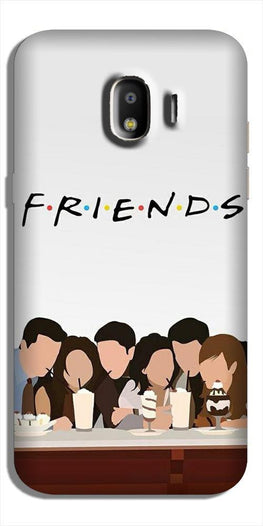 Friends Case for Galaxy J2 (2018) (Design - 200)