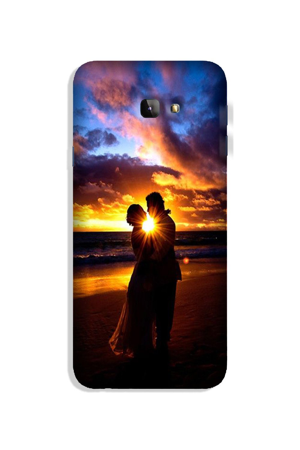 Couple Sea shore Case for Galaxy J4 Plus