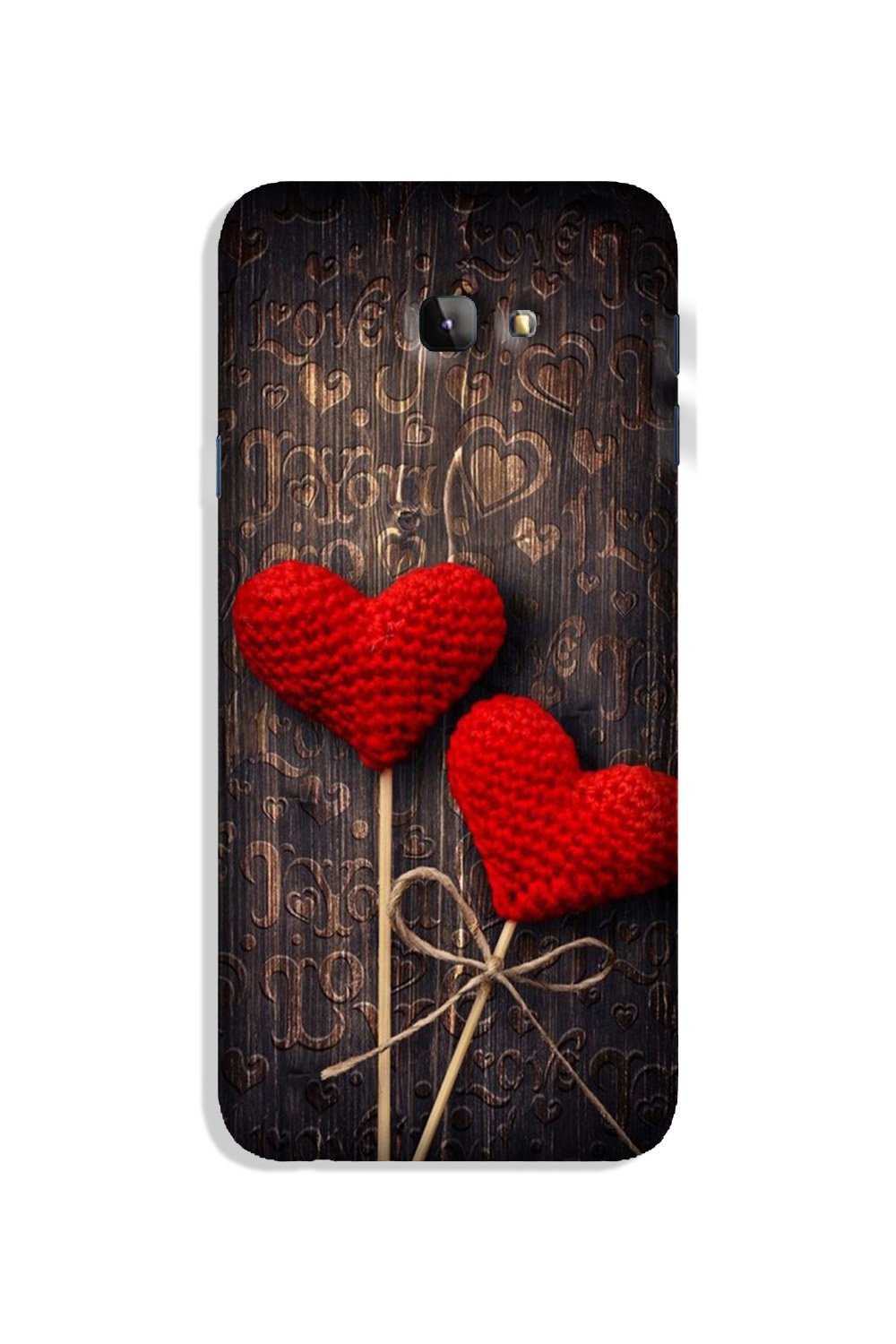 Red Hearts Case for Galaxy J4 Plus