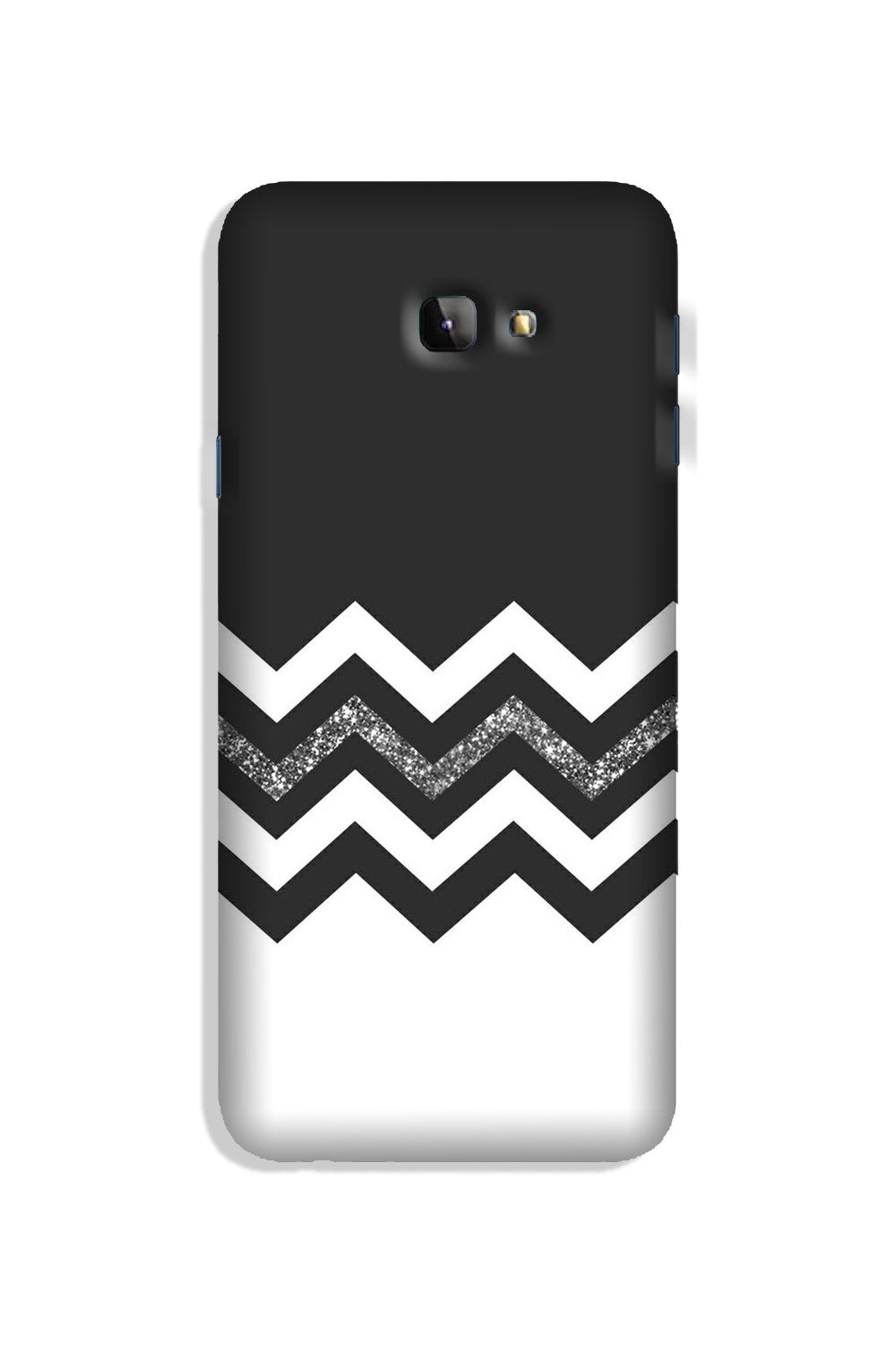 Black white Pattern2Case for Galaxy J4 Plus