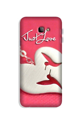 Just love Case for Galaxy J4 Plus