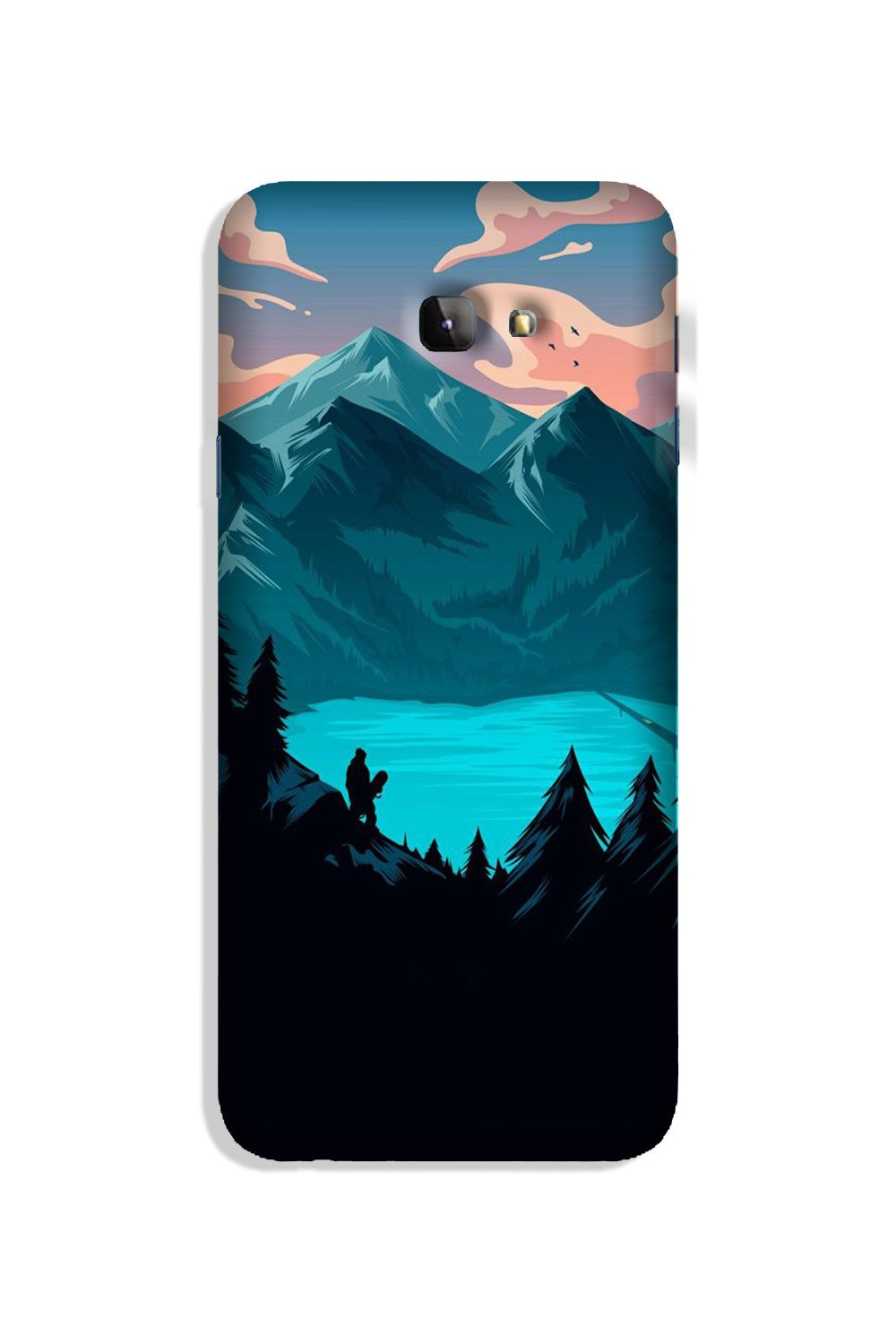 Mountains Case for Galaxy J4 Plus (Design - 186)