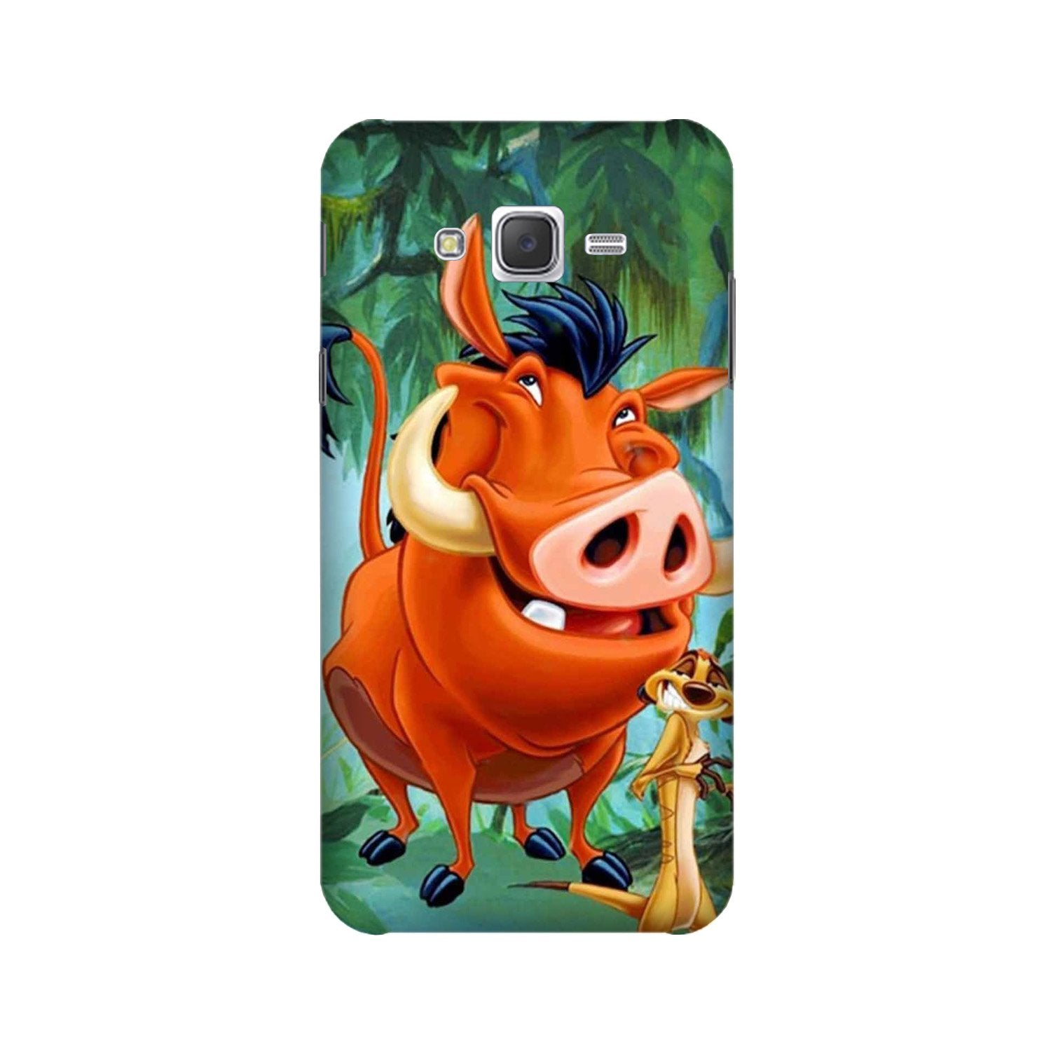Timon and Pumbaa Mobile Back Case for Galaxy A3 (2015) (Design - 305)