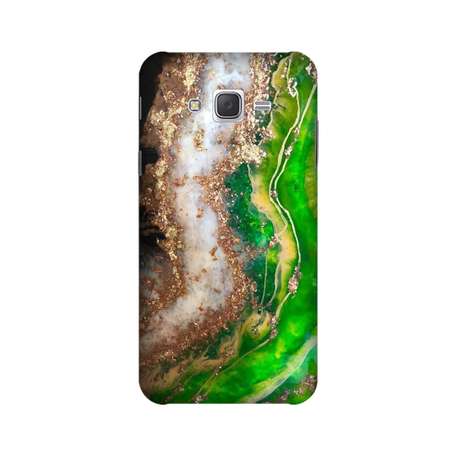 Marble Texture Mobile Back Case for Galaxy A3 (2015) (Design - 307)