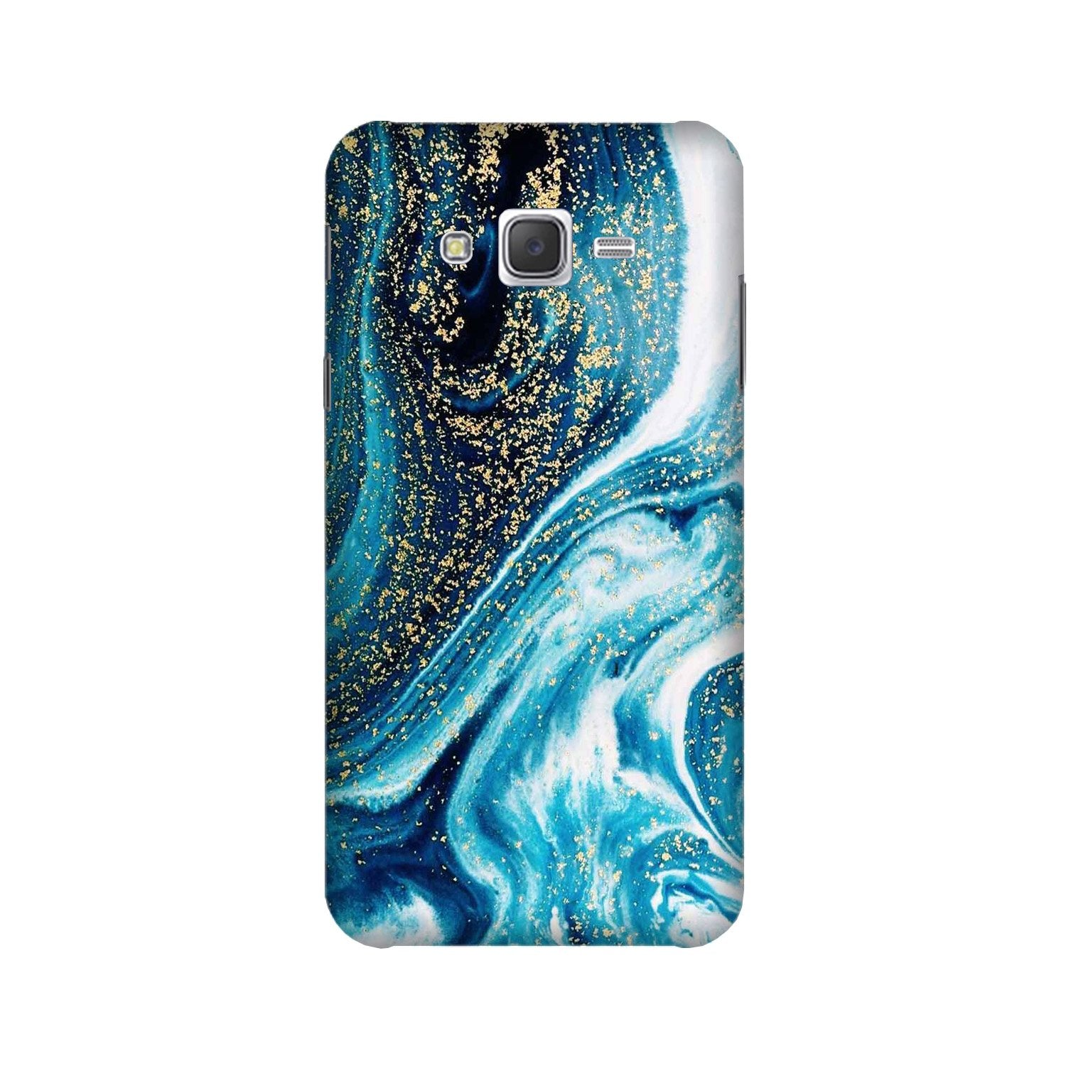 Marble Texture Mobile Back Case for Galaxy A3 (2015) (Design - 308)