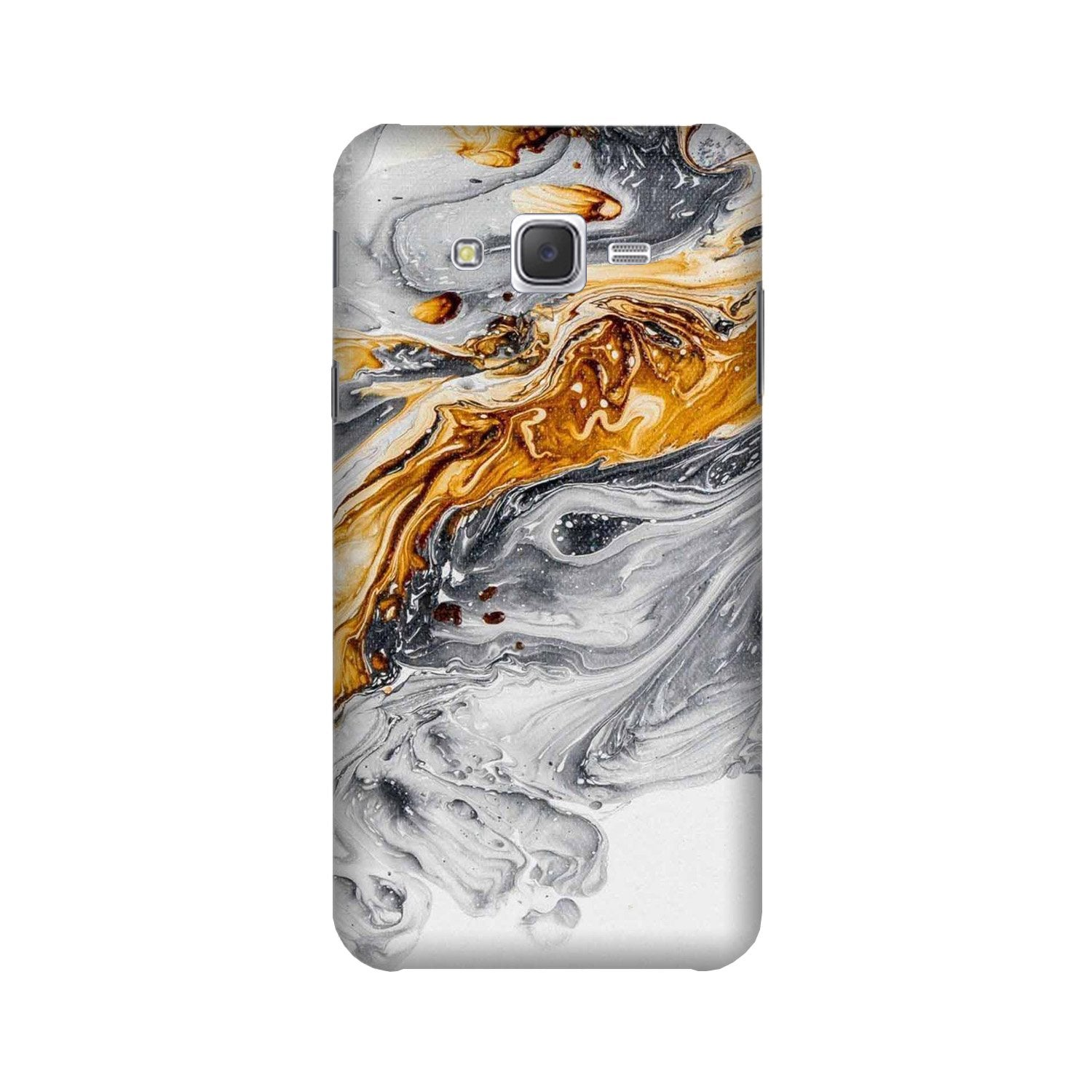 Marble Texture Mobile Back Case for Galaxy A3 (2015) (Design - 310)