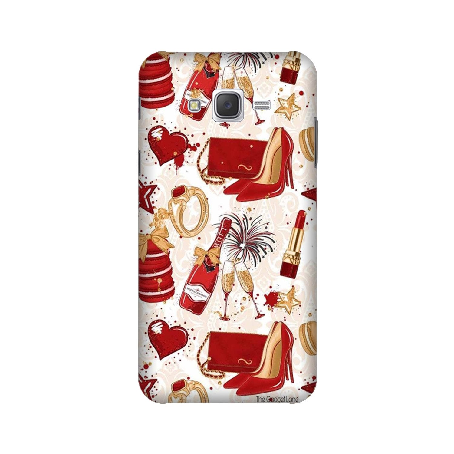 Girlish Mobile Back Case for Galaxy A3 (2015) (Design - 312)