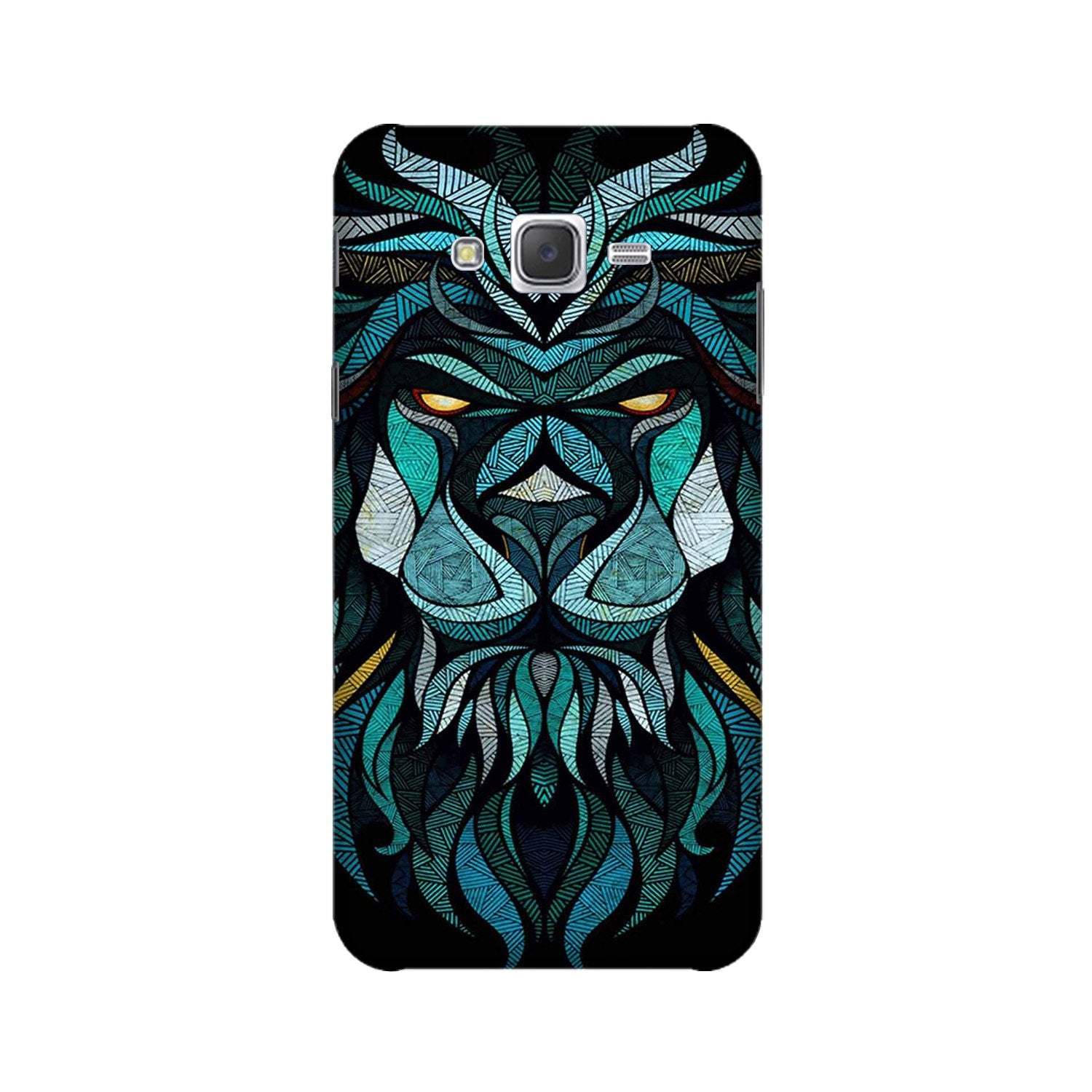Lion Mobile Back Case for Galaxy A3 (2015) (Design - 314)