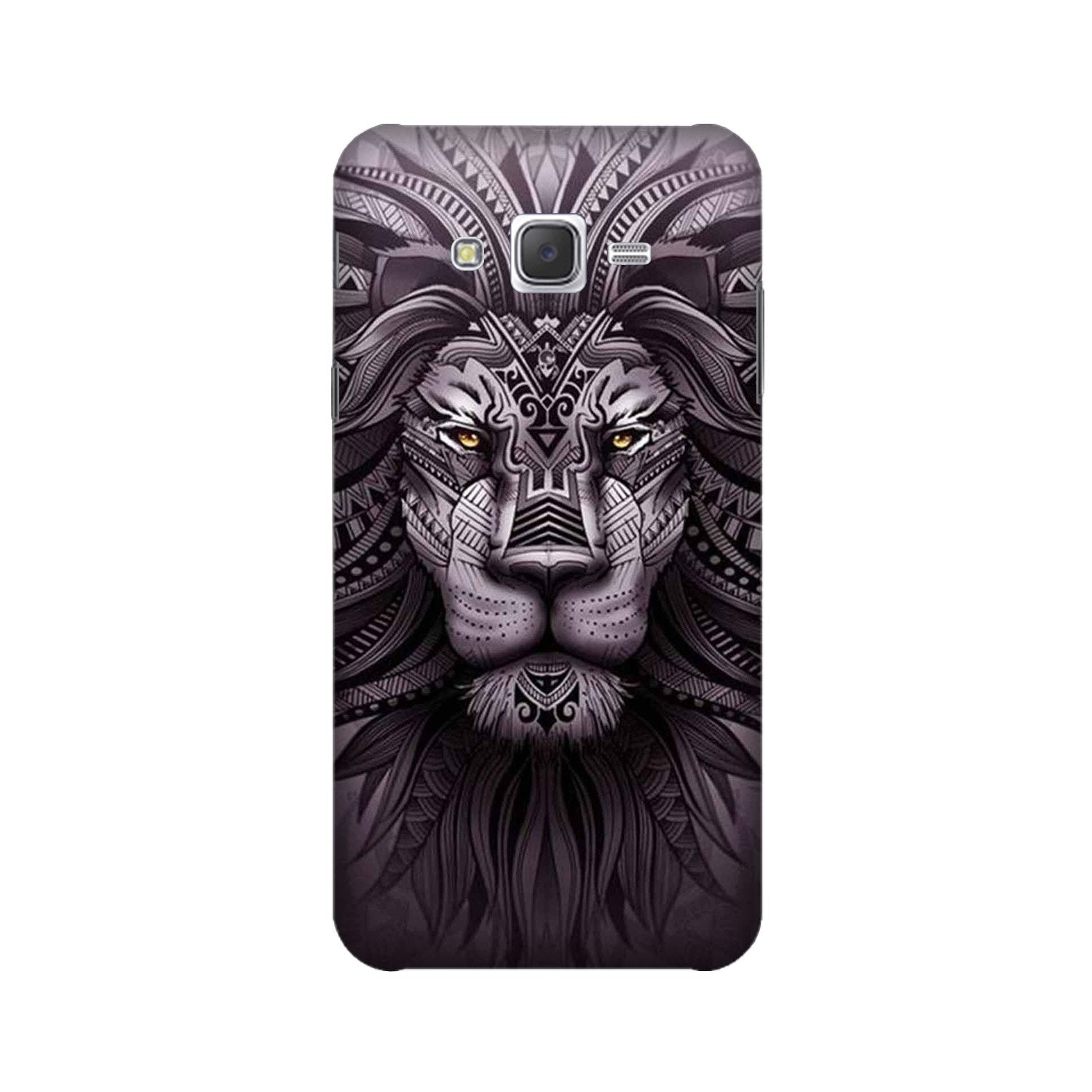 Lion Mobile Back Case for Galaxy A3 (2015) (Design - 315)