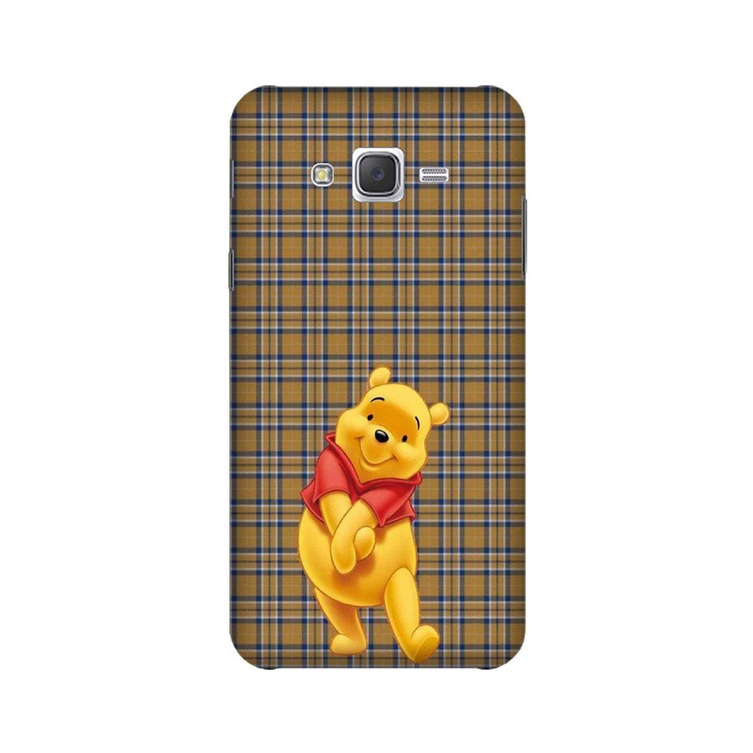 Pooh Mobile Back Case for Galaxy A3 (2015) (Design - 321)