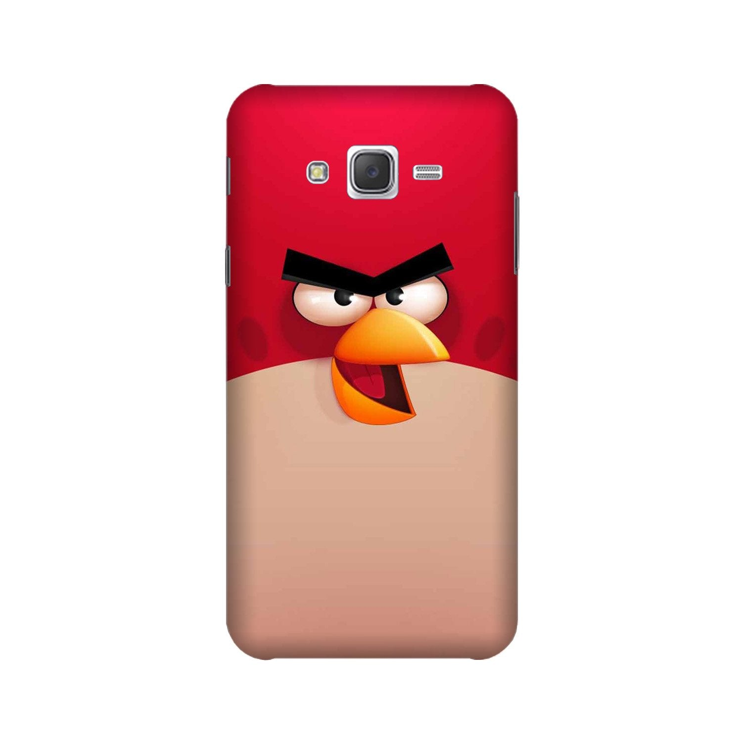 Angry Bird Red Mobile Back Case for Galaxy A3 (2015) (Design - 325)