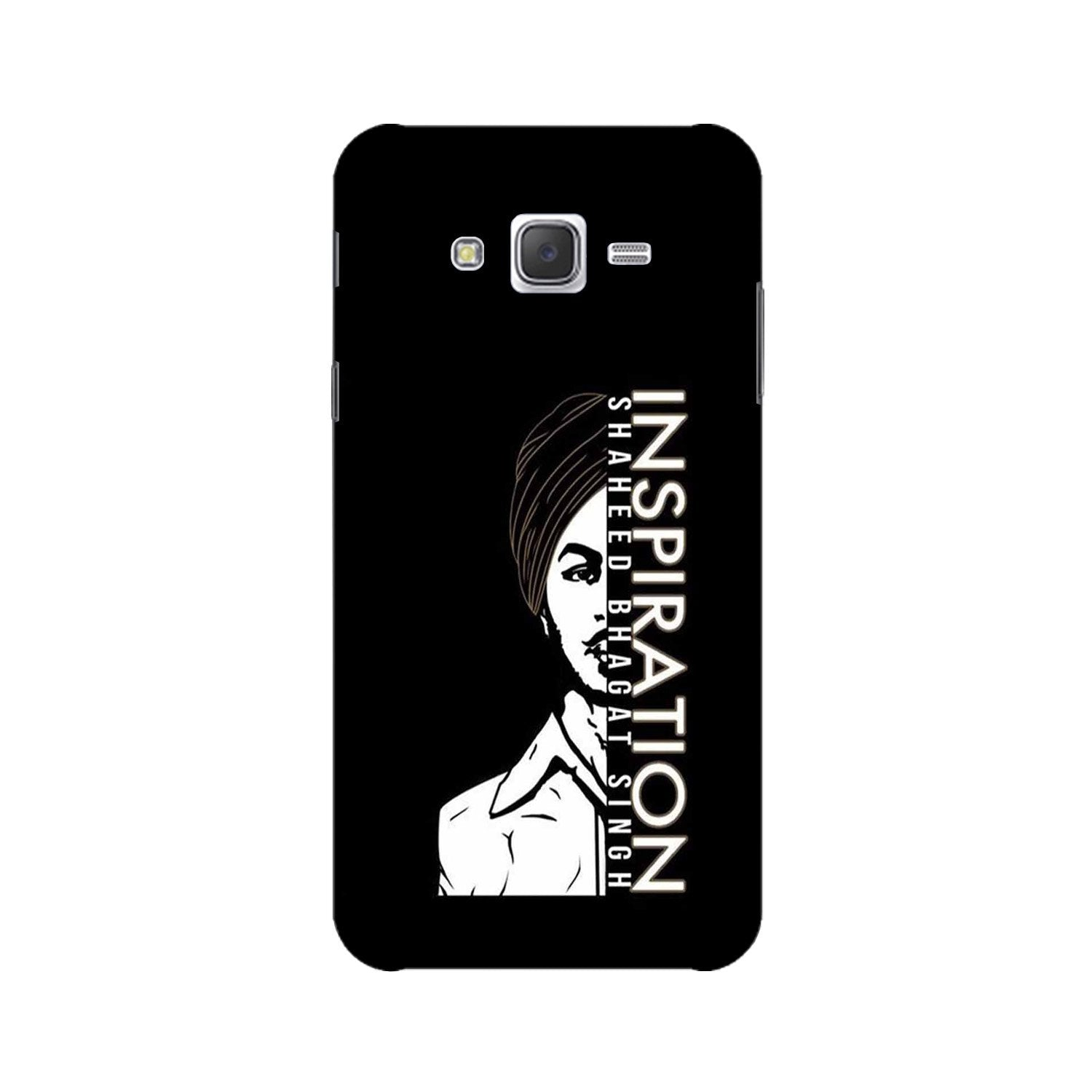 Bhagat Singh Mobile Back Case for Galaxy A3 (2015) (Design - 329)