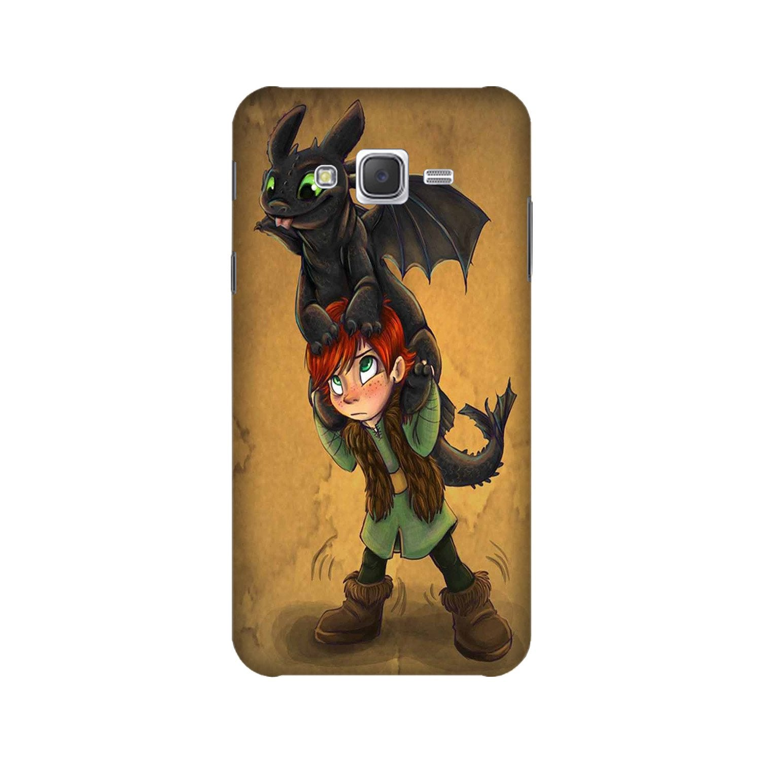 Dragon Mobile Back Case for Galaxy A3 (2015) (Design - 336)