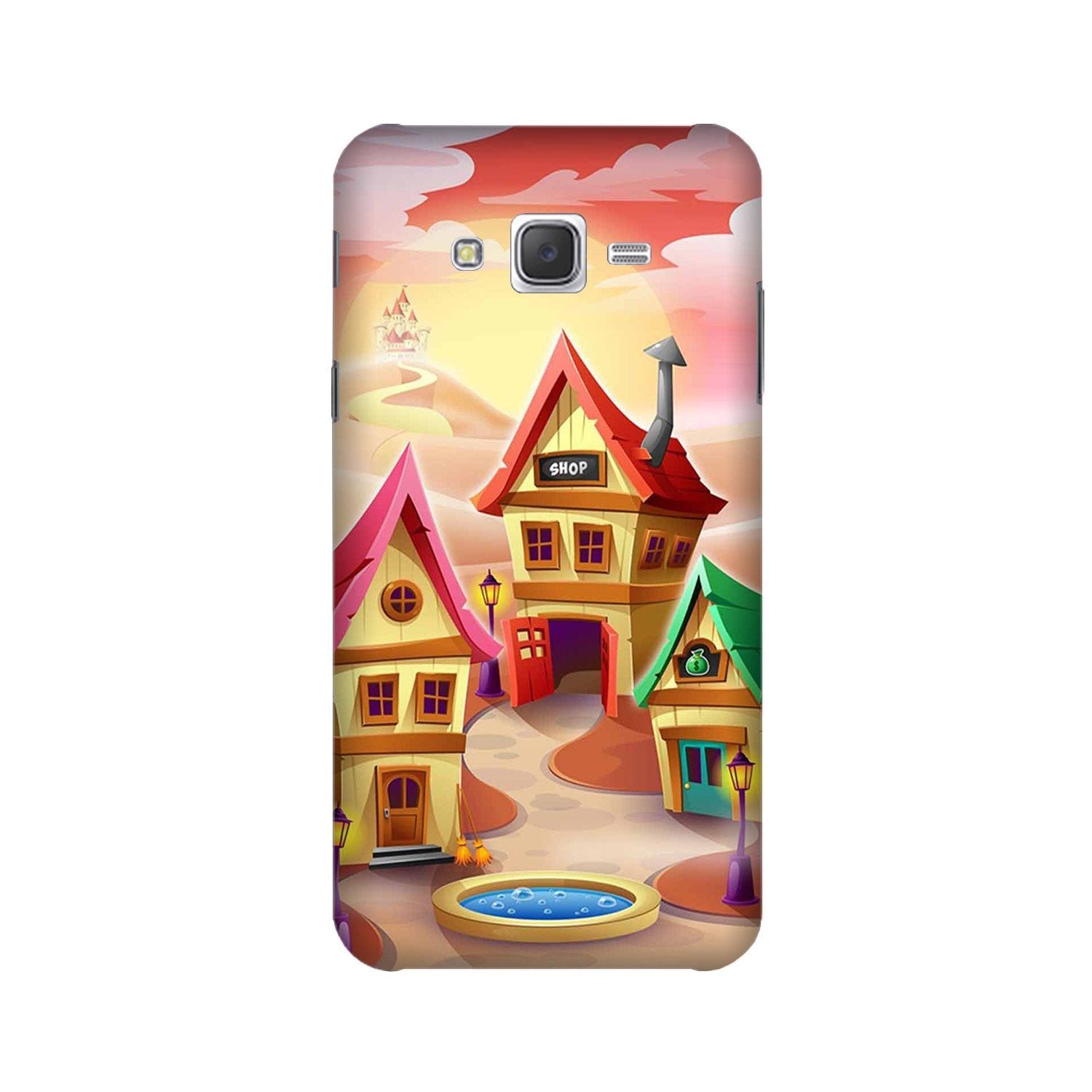 Sweet Home Mobile Back Case for Galaxy A3 (2015) (Design - 338)