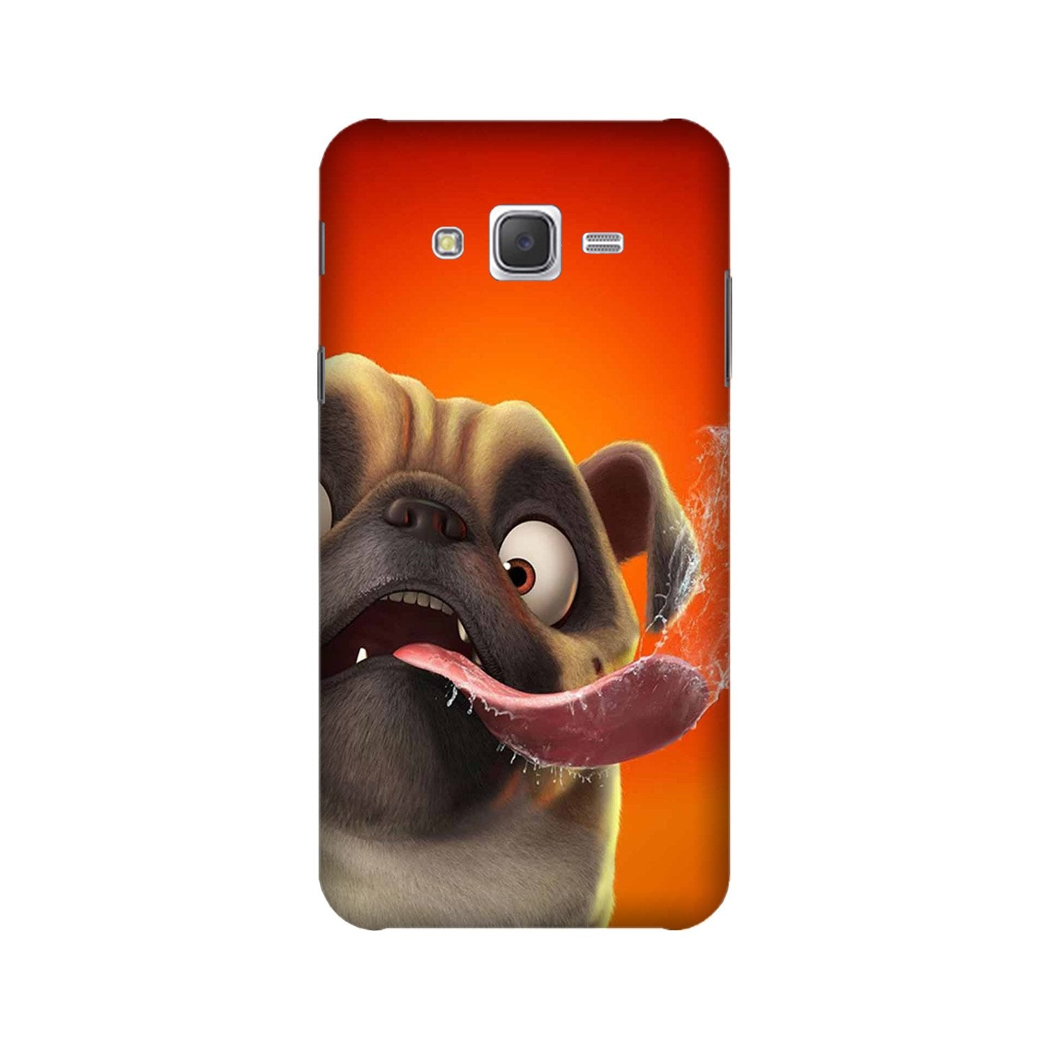 Dog Mobile Back Case for Galaxy A3 (2015) (Design - 343)