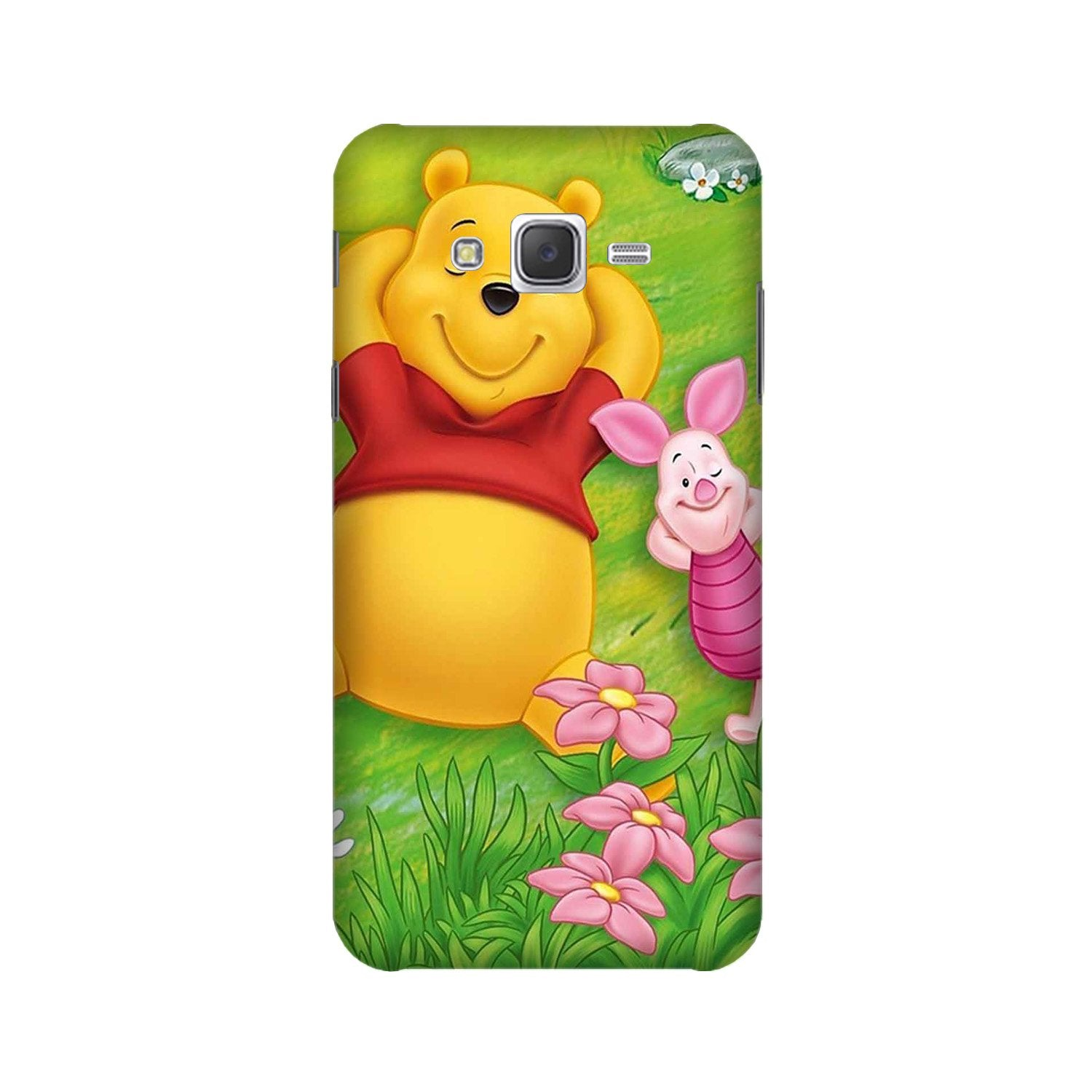Winnie The Pooh Mobile Back Case for Galaxy A3 (2015) (Design - 348)
