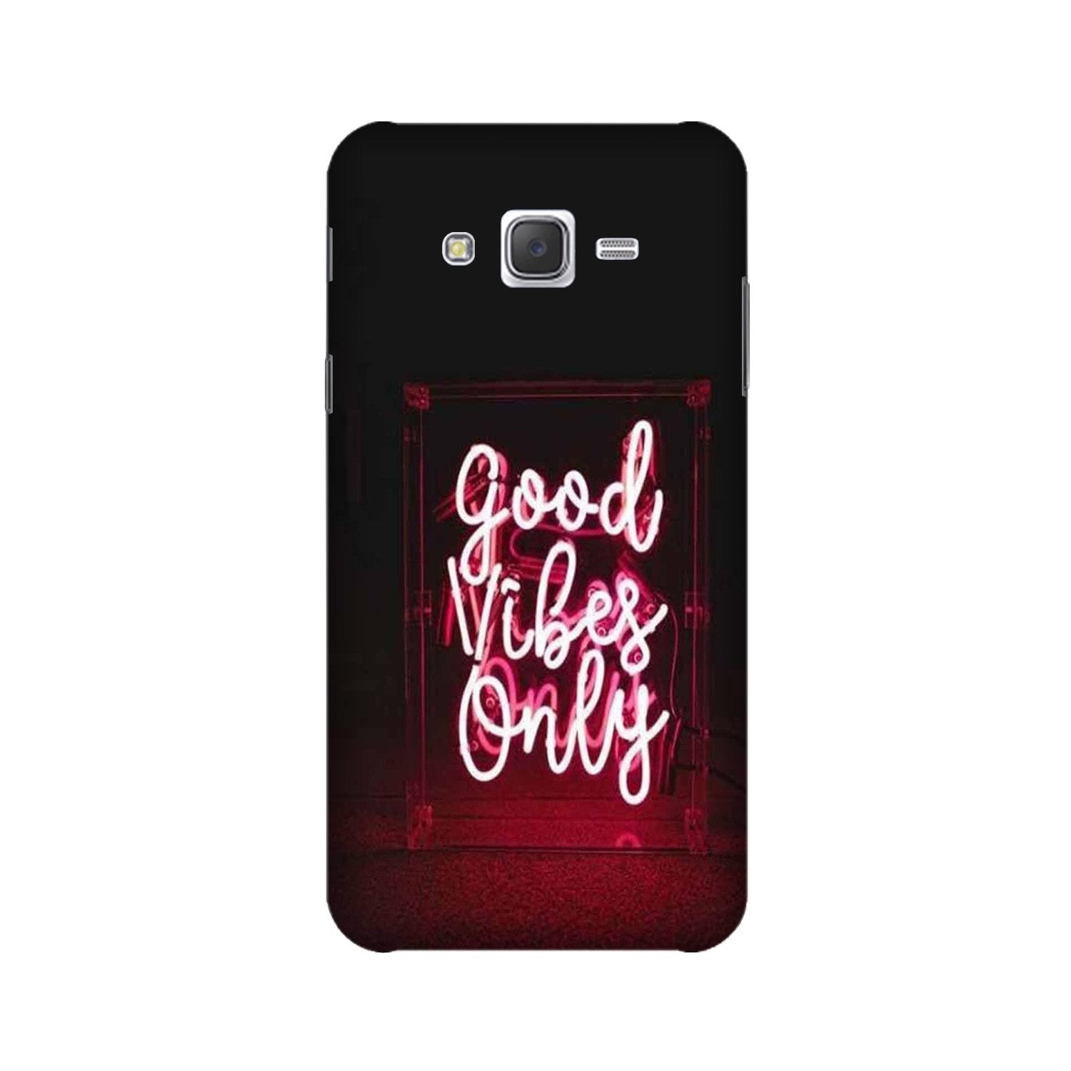 Good Vibes Only Mobile Back Case for Galaxy A3 (2015) (Design - 354)