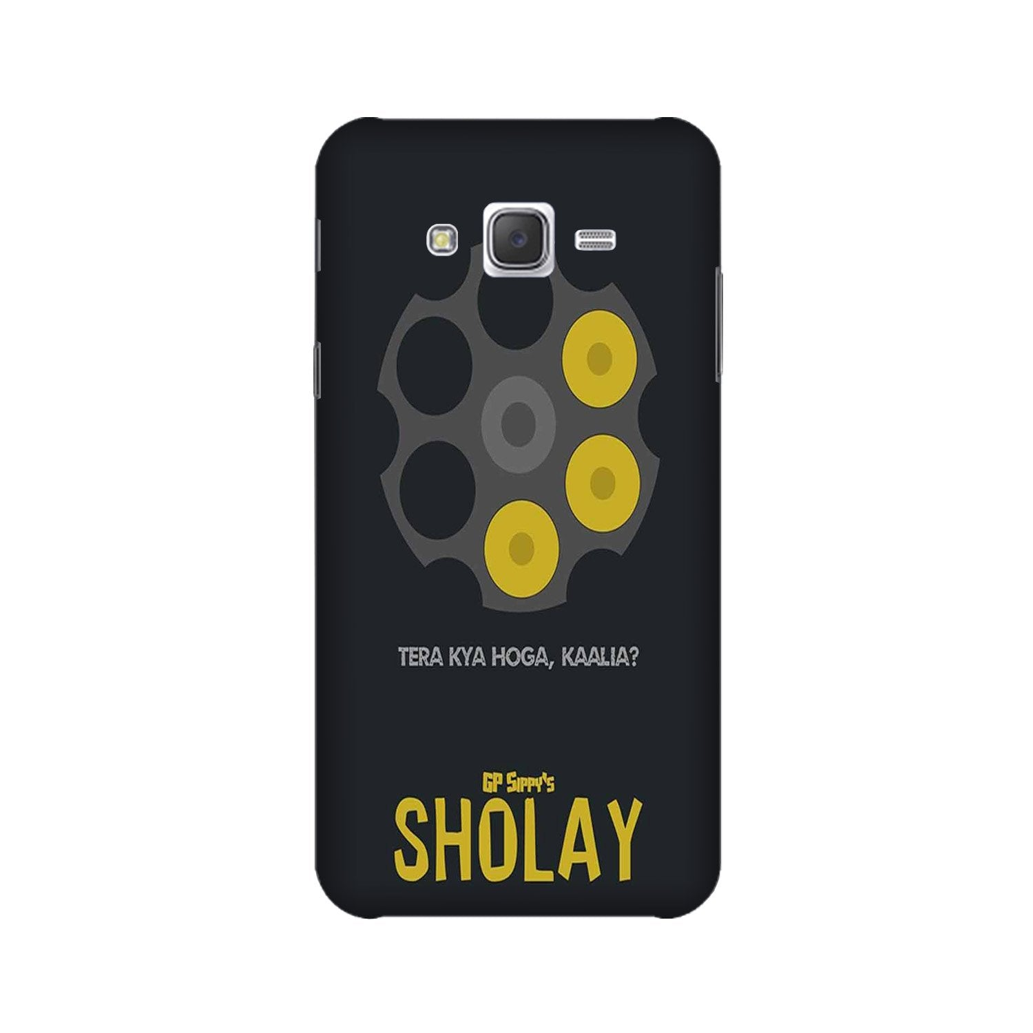 Sholay Mobile Back Case for Galaxy A3 (2015) (Design - 356)