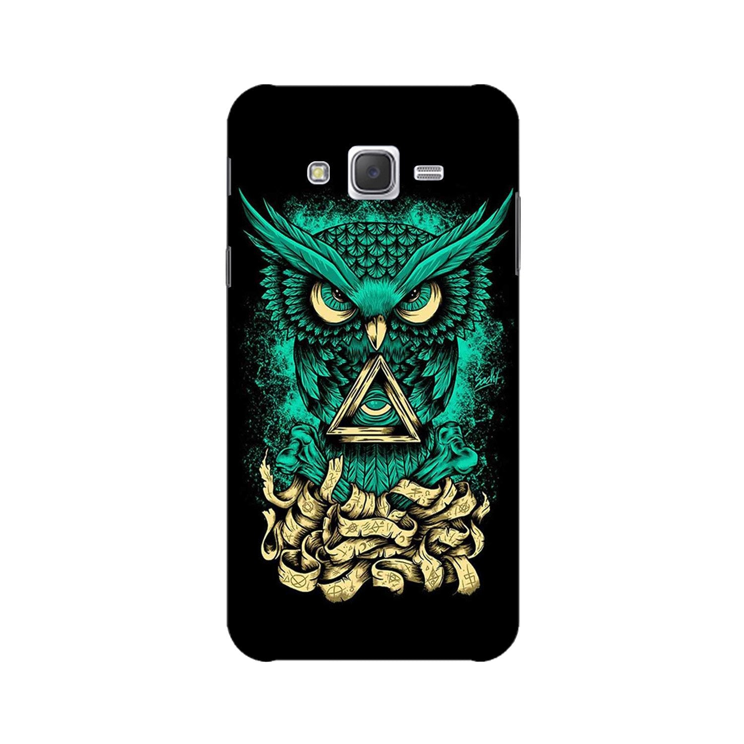 Owl Mobile Back Case for Galaxy A3 (2015) (Design - 358)