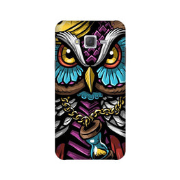 Owl Mobile Back Case for Galaxy On7/On7 Pro   (Design - 359)