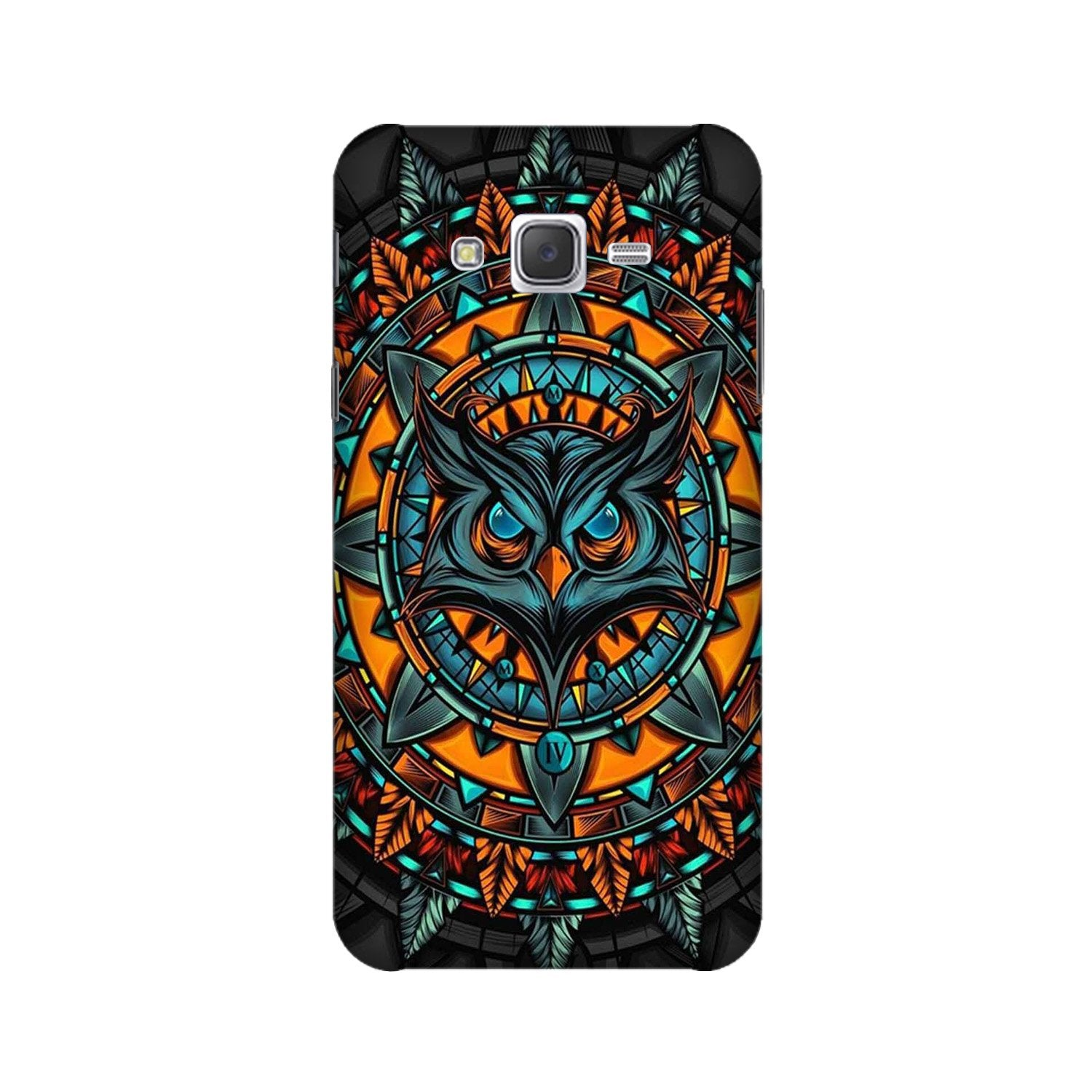 Owl Mobile Back Case for Galaxy A3 (2015) (Design - 360)