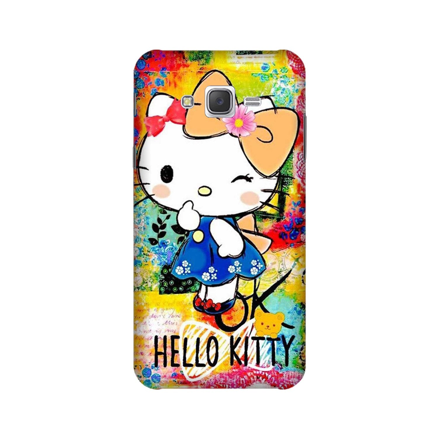 Hello Kitty Mobile Back Case for Galaxy A3 (2015) (Design - 362)