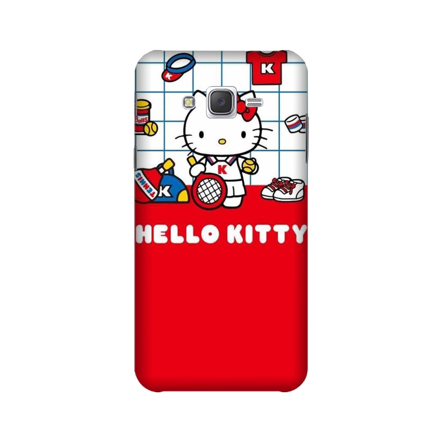 Hello Kitty Mobile Back Case for Galaxy A3 (2015) (Design - 363)